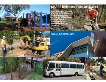 Draft 2013 2014 Business Plan (Budget) - City of Mitcham - SA.Gov.au