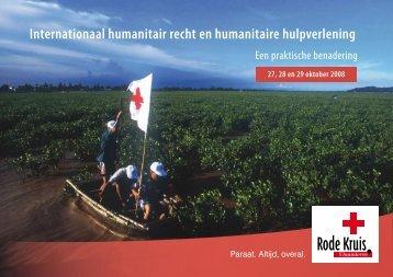 Programma - Rode Kruis-Vlaanderen