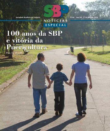 100 anos da SBP e vitória da Puericultura - Sociedade Brasileira de ...
