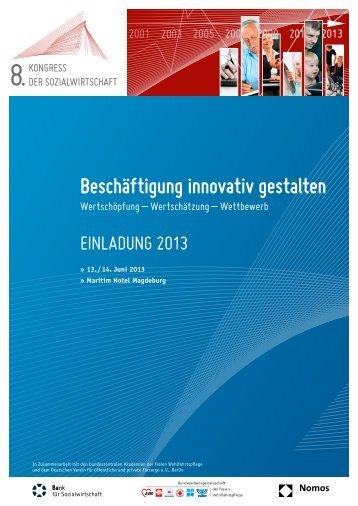 Programm 201 - Kongress der Sozialwirtschaft