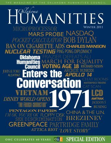 Oklahoma Humanities magazine - Oklahoma Humanities Council