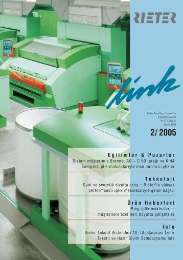2005 Eǧilimler & Pazarlar - Rieter