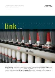 link 1 /2009 08 TECHNOLOGY Com4®twin – Hilados ... - Rieter
