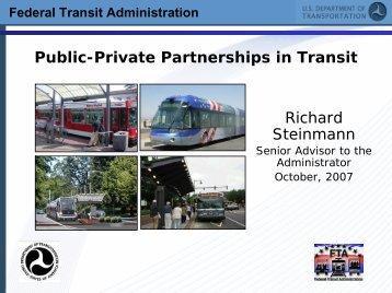 Federal Transit Administration - Rail~Volution