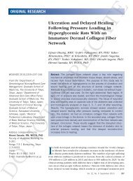 Ulceration and Delayed Healing Following Pressure ... - Wounds