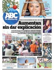 Aumentan - Periodicoabc.mx
