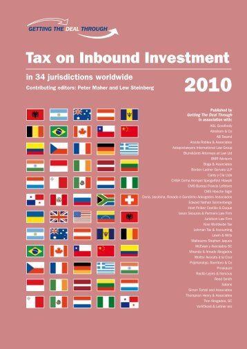 Tax on Inbound Investment - Raidla Lejins & Norcous