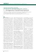 1. Urologisches Frühjahrssymposium - Ferring - Page 2