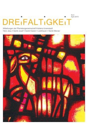Mitteilungen der Pfarreiengemeinschaft Koblenz ... - St. Josef Koblenz