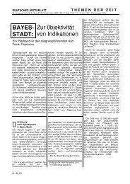 1992 BAYES-STADT - Zur Objektivität von ... - Frank Praetorius