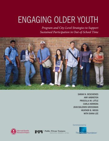 Engaging Older Youth - The Wallace Foundation