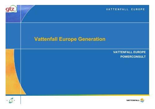 电厂脱硫除尘技术研讨会专题七Vattenfall Europe Generation电厂湿 ...