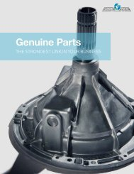 Why Genuine Parts Brochure (English) - Speed Queen
