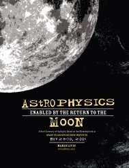 Astrophysics Enabled by the Return to the Moon - UCL Astronomy ...