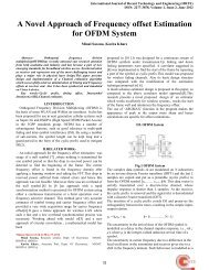 A Novel Approach of Frequency offset Estimation for OFDM System