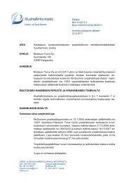 Päätös Nro 91/2011/1 Dnro LSSAVI/34/04.08/2011 Annettu ...