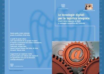 Le tecnologie digitali per la logistica integrata - Confindustria IxI