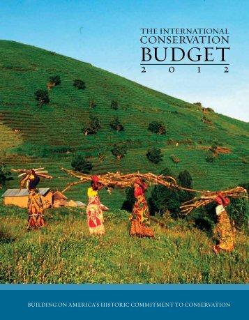 BUDGET - World Wildlife Fund