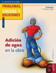 en la obra CAUSAS Y Adición de agua - Instituto Mexicano del ...