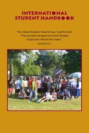 International Student Handbook - Concordia College