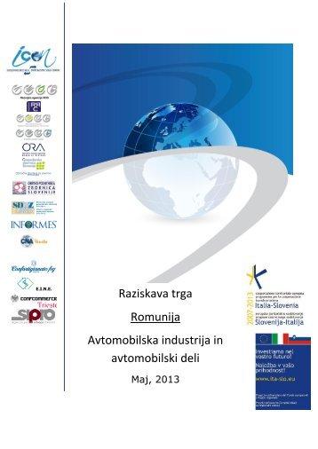Romunija - Avtomobilska industrija in avtomobilski deli - iCon