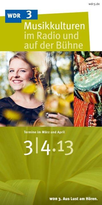 April 2013 - WDR 3