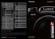 View catalogue - Lumix G Experience - Panasonic