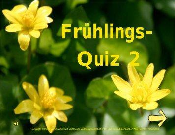 Frühlings- Quiz 2 - Medienwerkstatt ONLINE