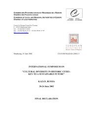 kazanfinaldeclaratio.. - European Association of Historic Towns ...
