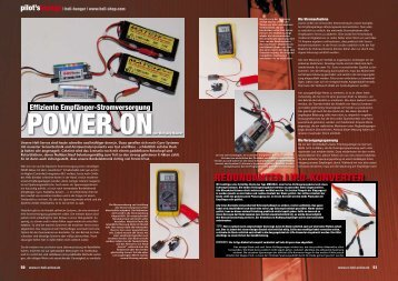 REDuNDaNtER LiPO-KONVERtER - Heli Shop