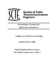 ANSI/SCTE 55-1 2009