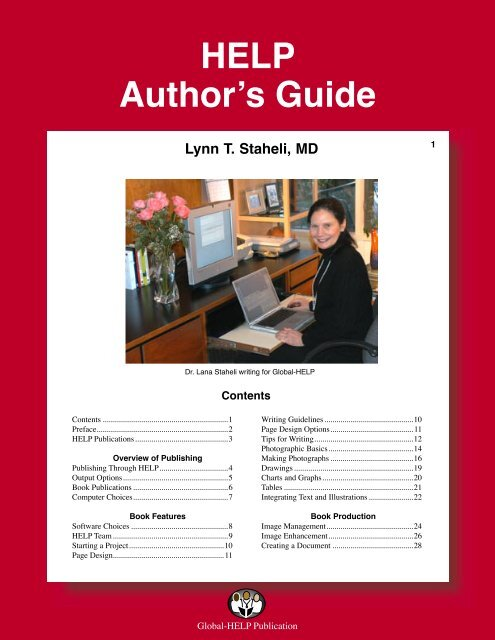 HELP Author's Guide - Global HELP