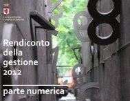 consuntivo 2012 - parte numerica - Comune di Faenza