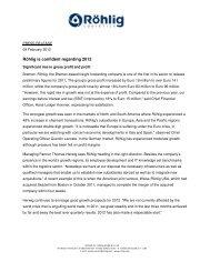 Download press release - Röhlig