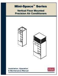 Mini-Space Series Installation, Operation & Maintenance Manual