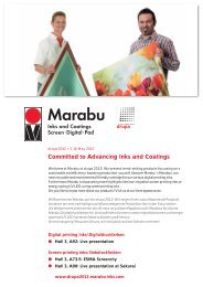 Committed to Advancing Inks and Coatings - Marabu Printing Inks