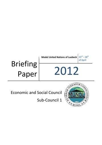 Briefing Paper - munol