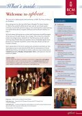 Upbeat Summer 2013 - Royal College of Music - Page 3