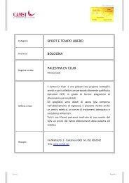 Sport e tempo libero - CAMST Soci Blog