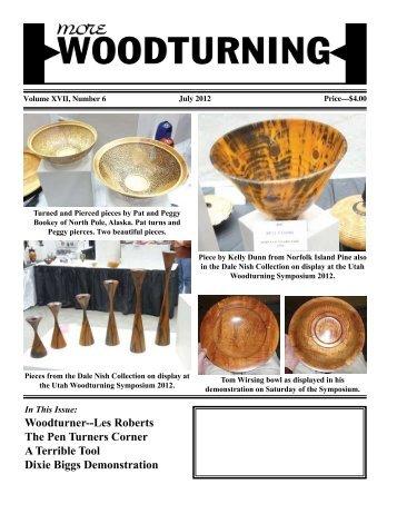 Woodturner--Les Roberts The Pen Turners Corner A Terrible Tool ...
