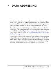 ADSP-21065L SHARC User's Manual; Chapter 4, Data Addressing