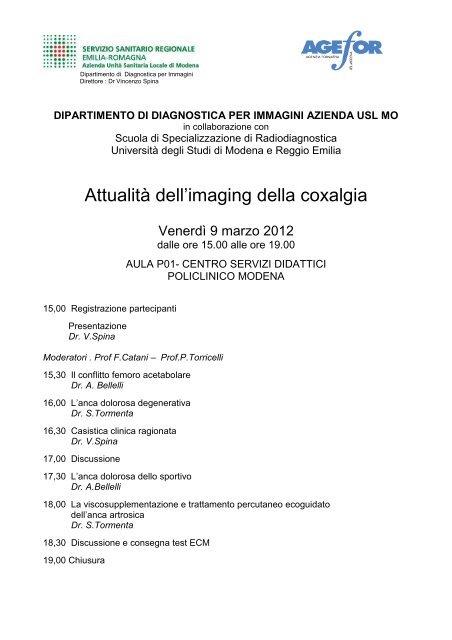 Programma dell'evento - Saluter