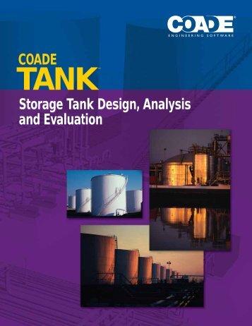 Storage Tank Design, Analysis and Evaluation COADE