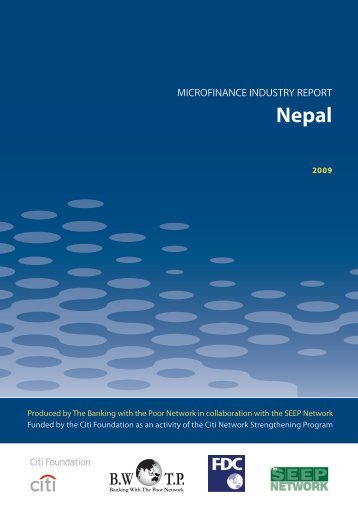 Microfinance Industry Report: Nepal - Banking with the Poor Network