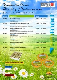 REWE-Flyer albfood Seite 01.cdr - REWE-Foodservice