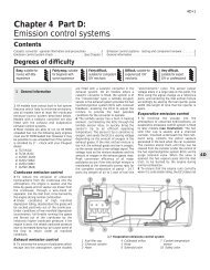 Chapter 4 Part D: Emission control systems