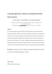 A dynamic approach to voluntary environmental contribu- tions in ...