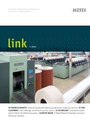 link 1 /2010 04 Trends & MArKeTs Il mercato tessile della - Rieter