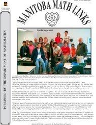 Issue 13 - University of Manitoba