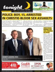 police: boy, 15, arrested in christie-bloor sex assaults - tonight ...